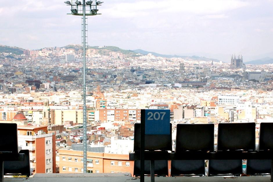 ..// Barcelone, piscine Montjuïc //...